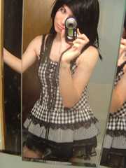 My Halloween Outfit (*~Much to My Dismay~*) Tags: emo young crossdressing tgirl transgender crossdresser crossdress ts transsexual