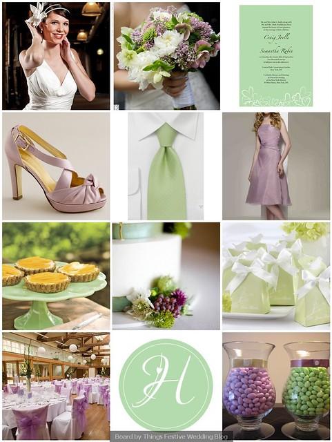 Spring Wedding Color Palette
