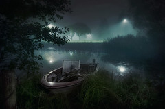 Let's Dock Here (Mikko Lagerstedt) Tags: park longexposure light shadow mist color detail reflection art water colors misty fog night suomi finland dark lens landscape real photography lights boat photo nikon long exposure mood darkness graphic unique fineart perspective smooth foggy sigma atmosphere scene move reflected lonely finnish 1020mm higher depth atmospheric mikko 2010 waterscape y sigma1020mm latyrx d90 kuvaus nikond90 gitup mikkolagerstedt lagerstedt