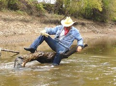 19 WS Dudes, could use your saddle to ride on here (Wrangswet) Tags: wranglers riverhike swimmingfullyclothed wetjeans wetboots guysinwetjeans wetladz wetcowboy wetcowboyboots guysswimmingfullyclothed wetcowboyhat wetwranglerjeans meninwetjeans swimminginboots