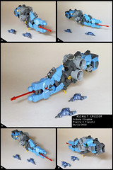 Assault Cruiser (Pierre E Fieschi) Tags: lego pierre space assault creation micro spaceship homeworld spacecraft moc microspace fieschi microscale microspacetopia cruier ordune