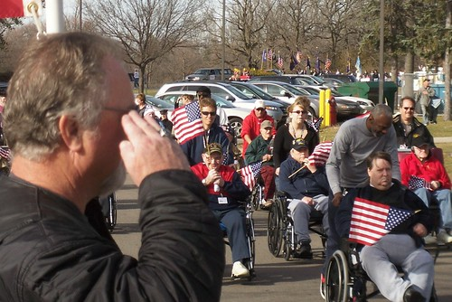 saluteVets Day St. Cloud MN