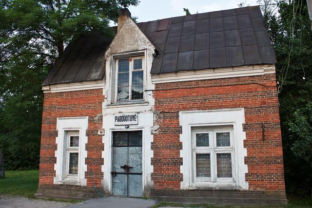 Parduotuvė prie Astravo dvaro