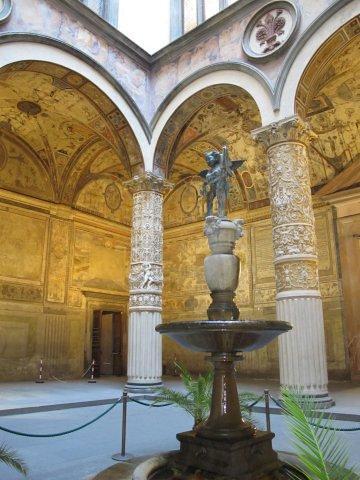 Patio interior del Palacio Vecchio