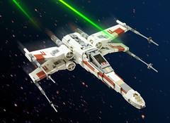 x-wing (marshal banana) Tags: starwars lego xwing moc t65 starfighter incom