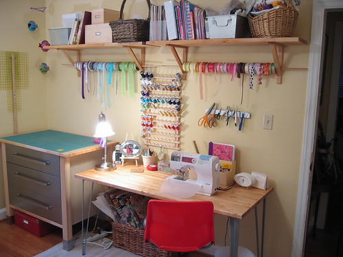 Sewing Room Design Ideas on Giant Craft Havensewing Room From Murphys Designs