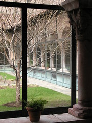 Winter: Cuxa Cloister