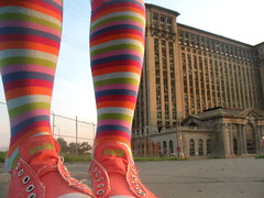 @ michigan central station (artsy_T) Tags: socks michigan detroit abandonded michigancentralstation rrw abigfave revolutionofrealwomen sotts sisterhoodofthetravelingsocks sottsfieldtrip artsyfartsyfeet