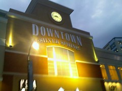 "Downtown Silver Spring on July 3, No ""Wel..."