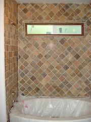 Progress on the tile