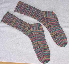 Yarrow Ribbed Socks