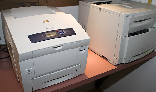 Xerox 8560 Phaser and HP 4550