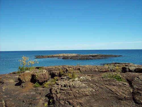Black Rocks, Presque Isle, Marquette Michigan