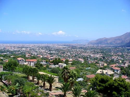 Palermo vista de Monreale