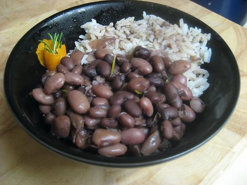beans bourguignon