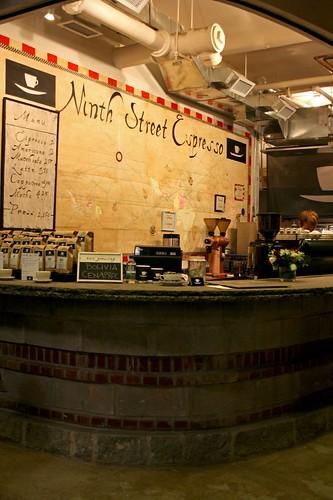 Ninth Street Espresso in Chelsea Market