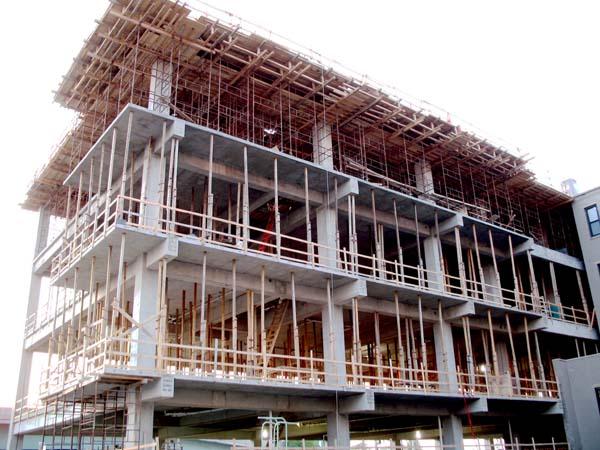 Construction of Parker Flats Cincinnati, Ohio
