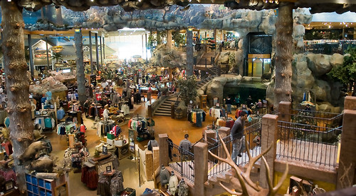 Beautiful Bass Pro Shops Outdoor World