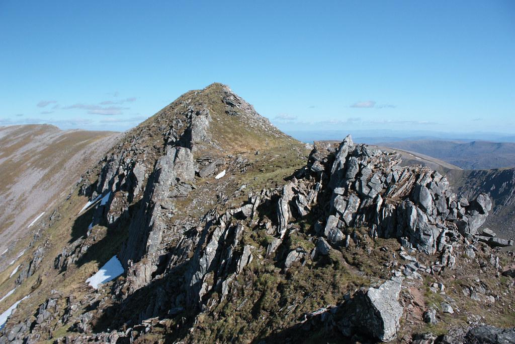 The Carn Eige Pinnacles