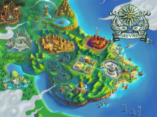 El mapa del juego