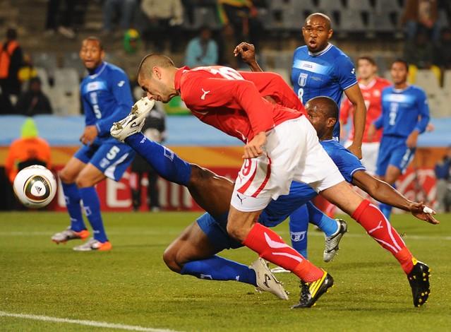 Mundial de Fútbol Suiza versus Honduras