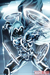 08 SECRET AVENGERS #7 TRON Variant, featuring Moon Knight