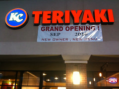 KC Teriyaki in Vancouver WA