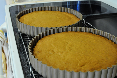 Giant Pumpkin Cookie Cake