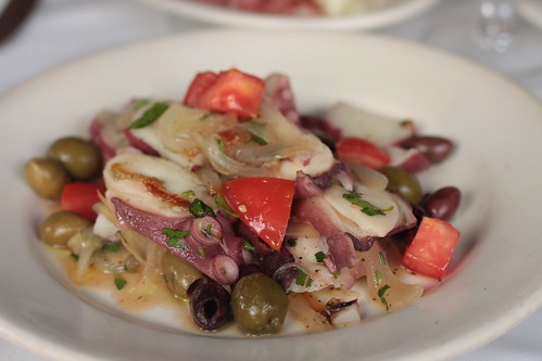 Ca'Dario - octopus and potato salad