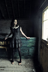 scissor-pain and phantom limbs (Sofi Anne) Tags: light abandoned girl tasha