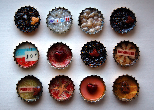Bottlecap Embellishments