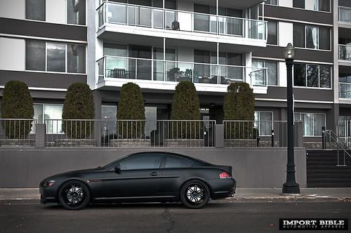 Bmw 650i Black. slick-flat-lack-mw-650i-5