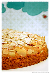 Polenta and Almond Cake© by Haalo