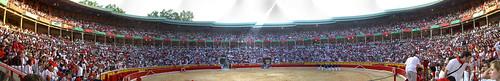 Pamplona Bullring Panorama