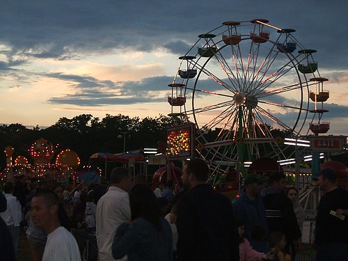 The Fair at Dusk