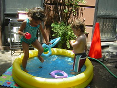 kiddie pool!