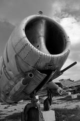 MiG 19 Nose (three-B) Tags: bw memorial war asia crash military jets jet vietnam communist hanoi jetfighter mig aerospace warplane vietnamwar aeronautic mig21 mig19