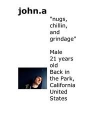 John.A (marc lafia) Tags: selfportrait pose display myspace american portraiture tease showing pleasure narrative roleplaying affect solicitation selfexposure arouse performative selfdisplay eroticexposure connectiveintensities onlineprofiles identityformation selfidentification