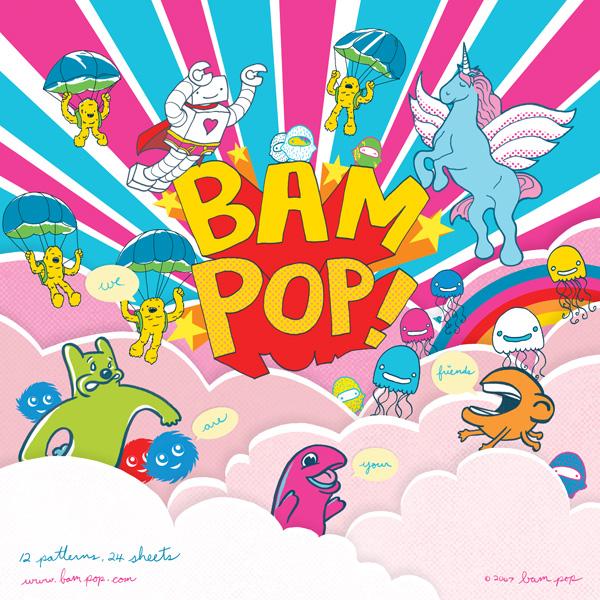 BAM POP! volume 3