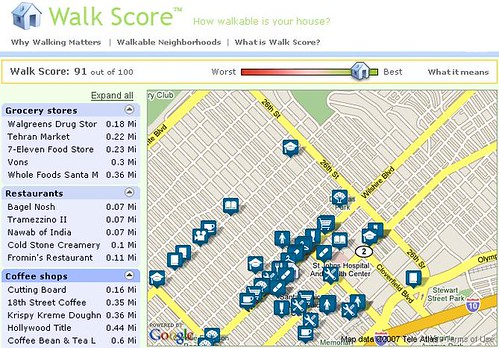 Walk Score screenshot