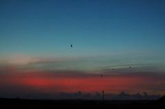 東平安崎の夕景
