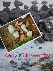 Andy Goldsworthy Sculpture