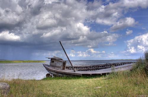 Kuressaare on Saaremaa Island of Estonia