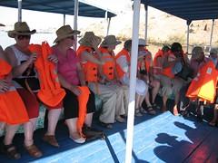 Trend setters (Wosog) Tags: cruise orange holiday geotagged egypt nile aswan lifevest 2007 geo:lat=24034701 geo:lon=32885605