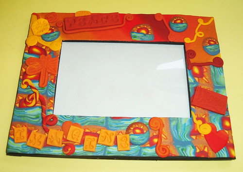 Peace picture frame
