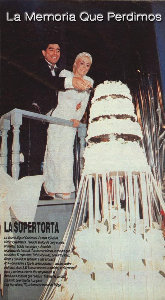 casamiento diegote y la claudia 1989