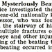Dillard University Professor Henry Brooks Mysteriously Beaten - Jet Magazine, September 3, 1953