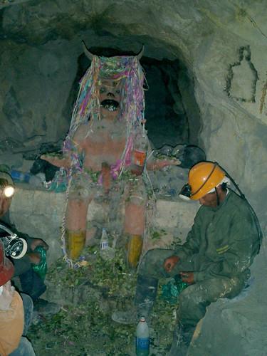 El tío de las minas bolivianas