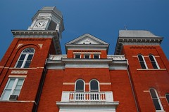 Taliaferro Courthouse ca 1902 (MilkaWay) Tags: architecture clocktower courthouse brickbuilding crawfordville highvictorian taliaferrocounty smalltowngeorgia