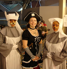 DragonCon: Pirate Lolita Leah & Cat Nurses